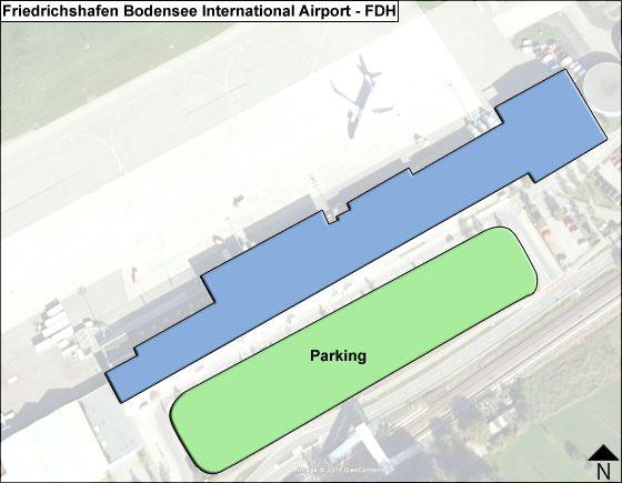 Friedrichshafen Bodensee FDH Terminal Map