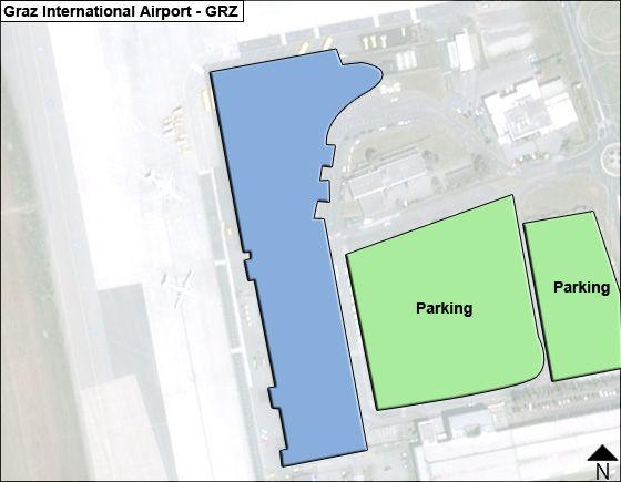 Graz GRZ Terminal Map