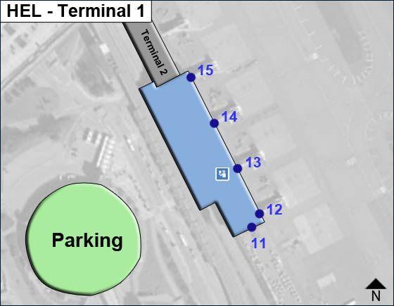 Helsinki-Vantaa HEL Terminal Map