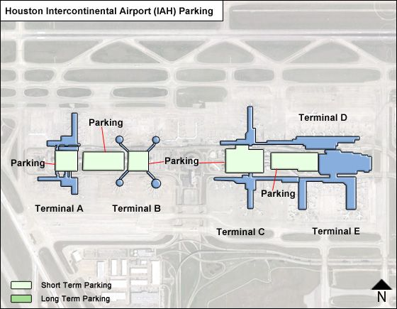 Houston Intercontinental Airport Parking IAH Airport Long Term