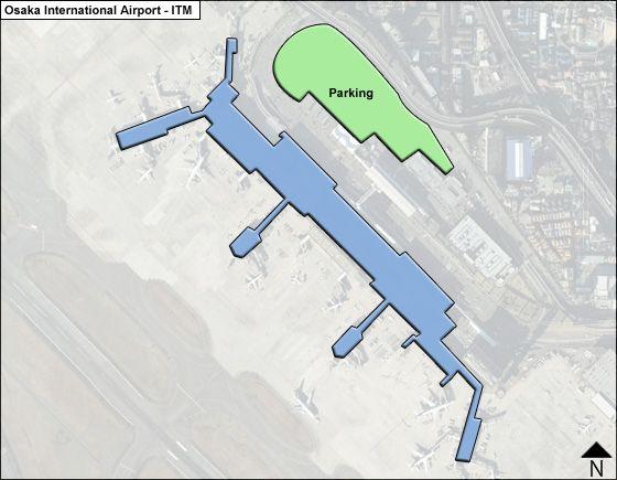 Osaka ITM Terminal Map