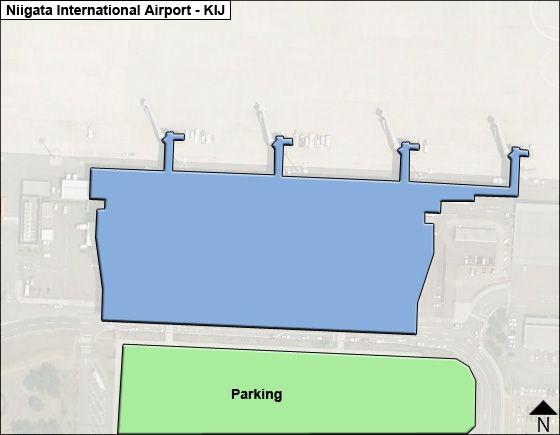 Niigata KIJ Terminal Map
