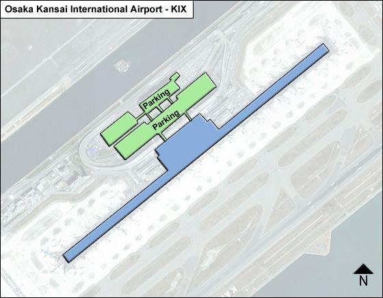 Osaka Kansai KIX Terminal Map