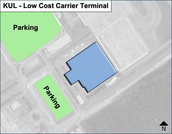 Selangor Airport Low Cost Carrier Terminal Map