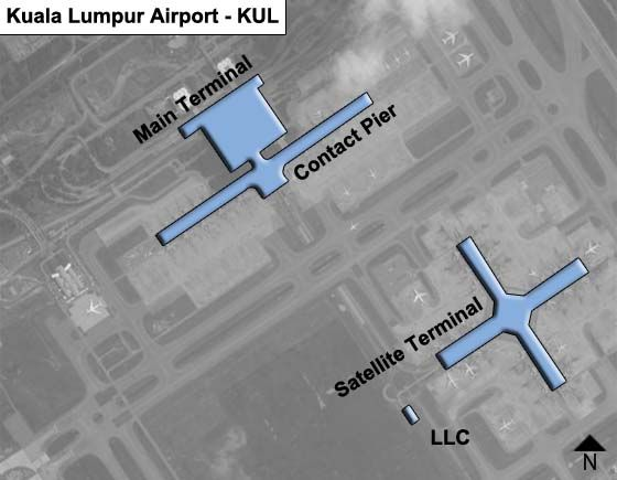 Selangor Airport Overview Map