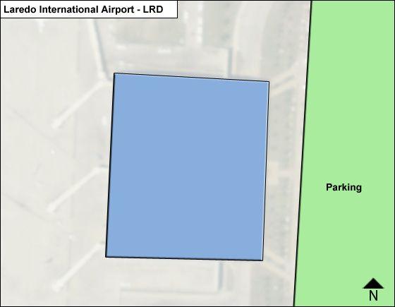 Laredo LRD Terminal Map