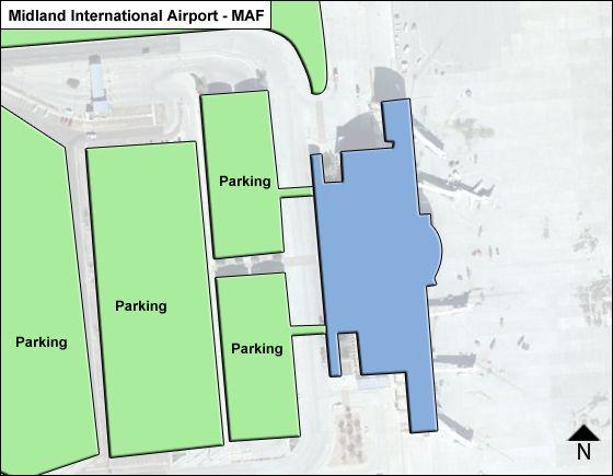 Midland MAF Terminal Map
