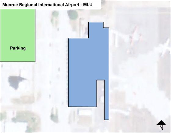 Monroe Regional MLU Terminal Map