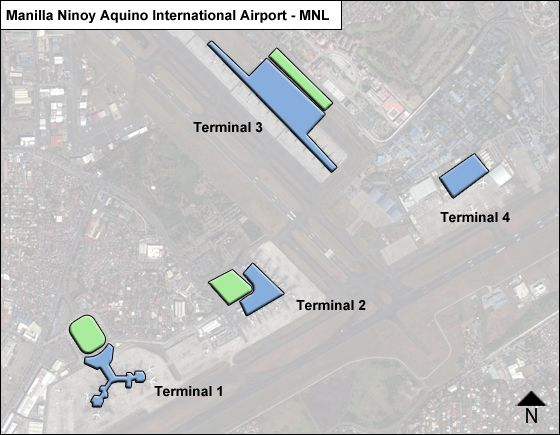Pasay  Airport Overview Map