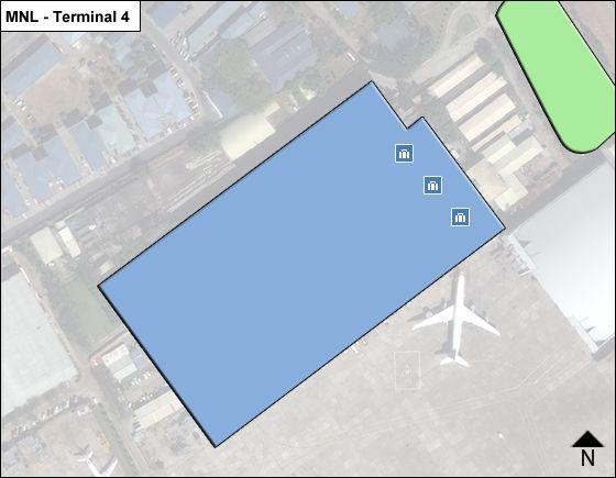 Pasay  Airport Terminal 4 Map