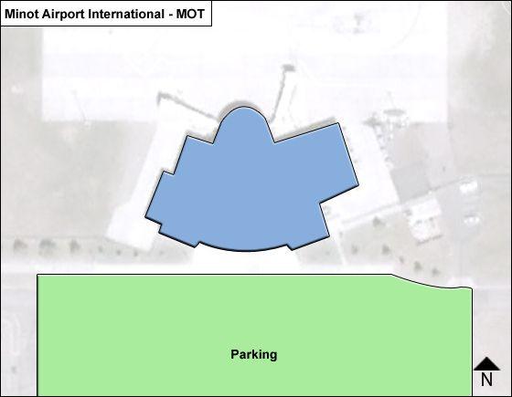 Minot MOT Terminal Map