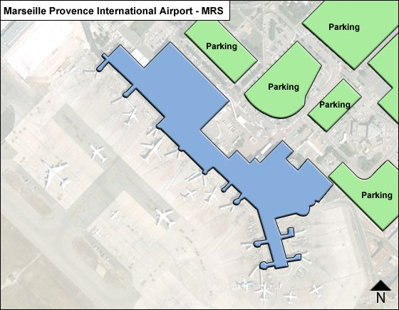 Marseille Provence MRS Terminal Map