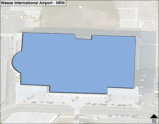Weeze NRN Terminal Map