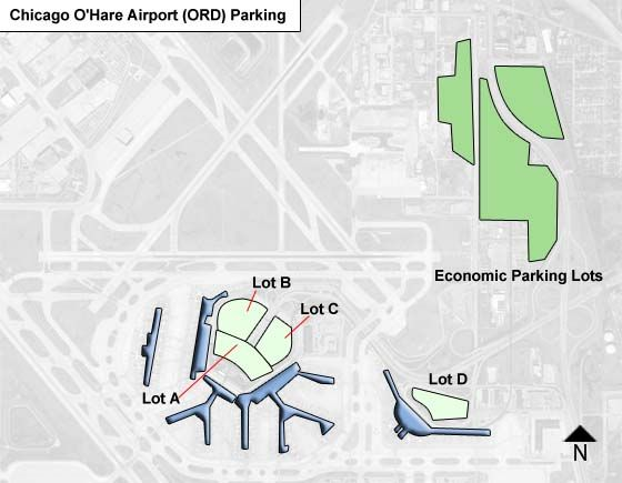 Chicago OHare Airport Parking ORD Airport Long Term Parking Rates