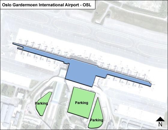 Oslo Gardermoen OSL Terminal Map