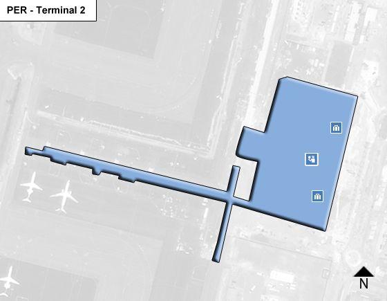 Perth PER Terminal Map