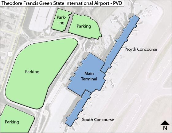 Warwick Airport Overview Map