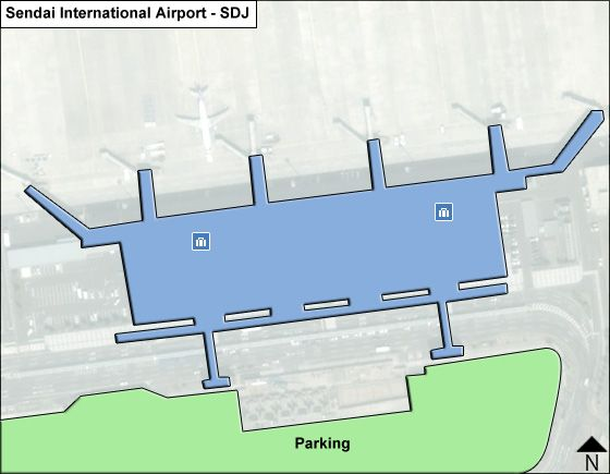 Sendai SDJ Terminal Map