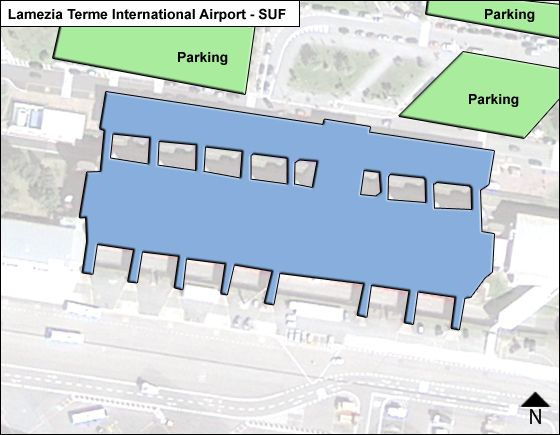 Lamezia Terme SUF Terminal Map