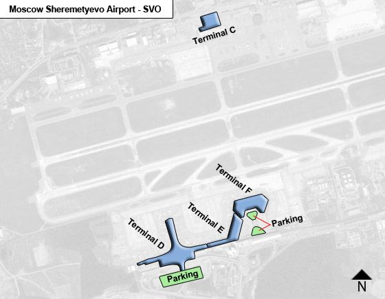 sheremetyevo airport map terminal d Moscow Sheremetyevo Svo Airport Terminal Map sheremetyevo airport map terminal d