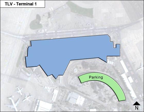 Ben-Aurion Airport Airport Terminal 1 Map