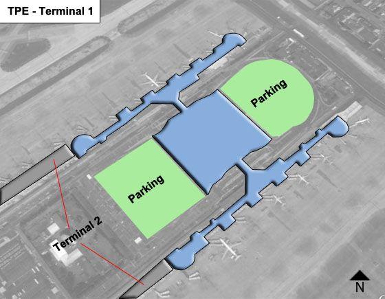 Dayuan City Airport Terminal 1 Map