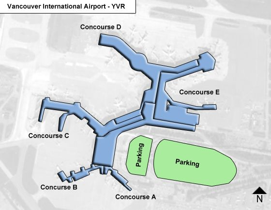 Car Rental At Vancouver Airport South Terminal