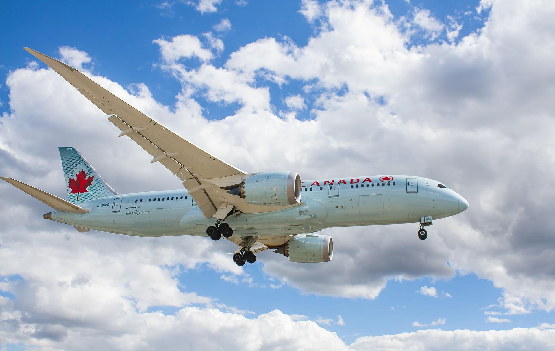 Air Canada Flight tracker