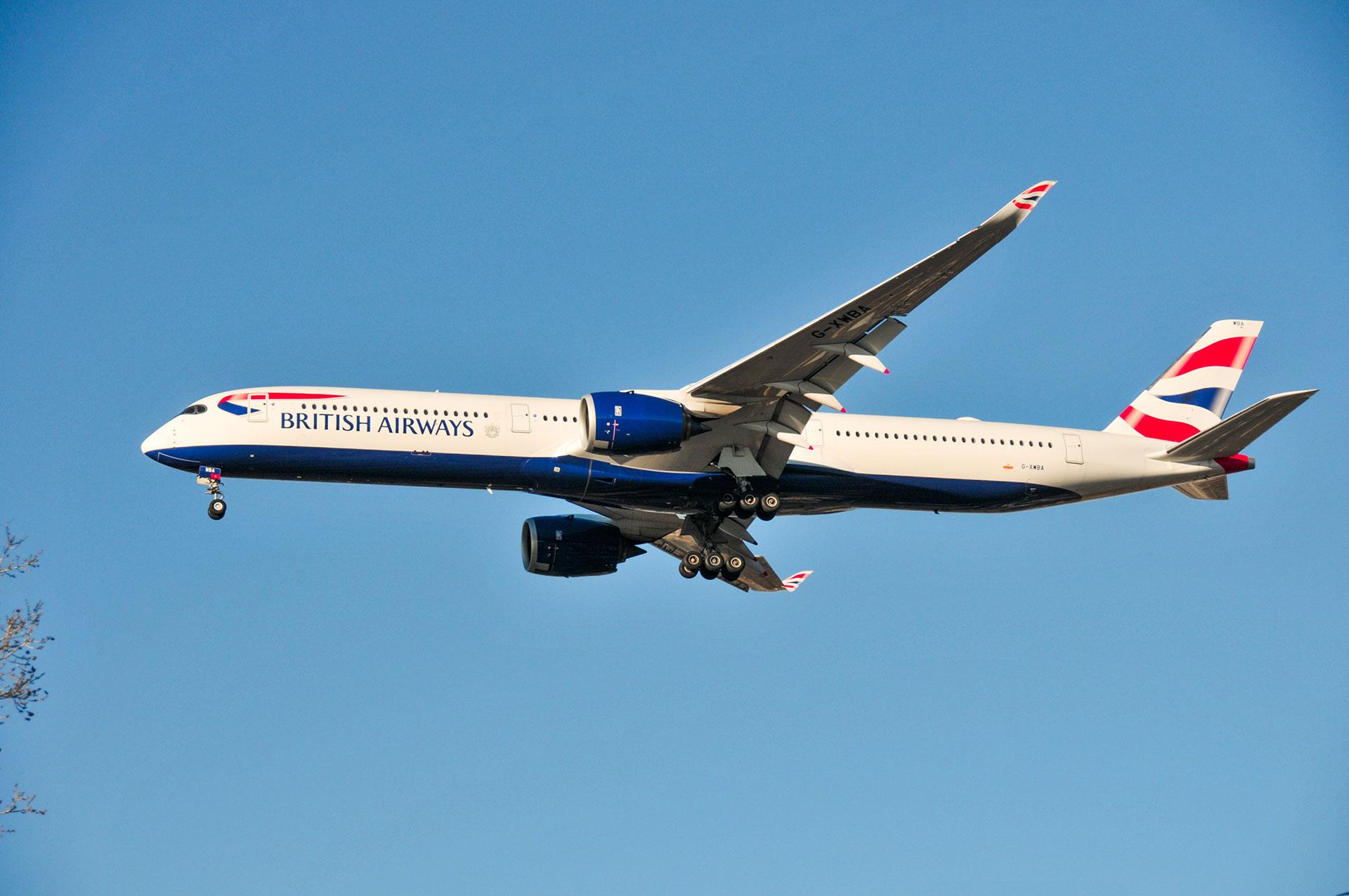 British Airways Flight tracker
