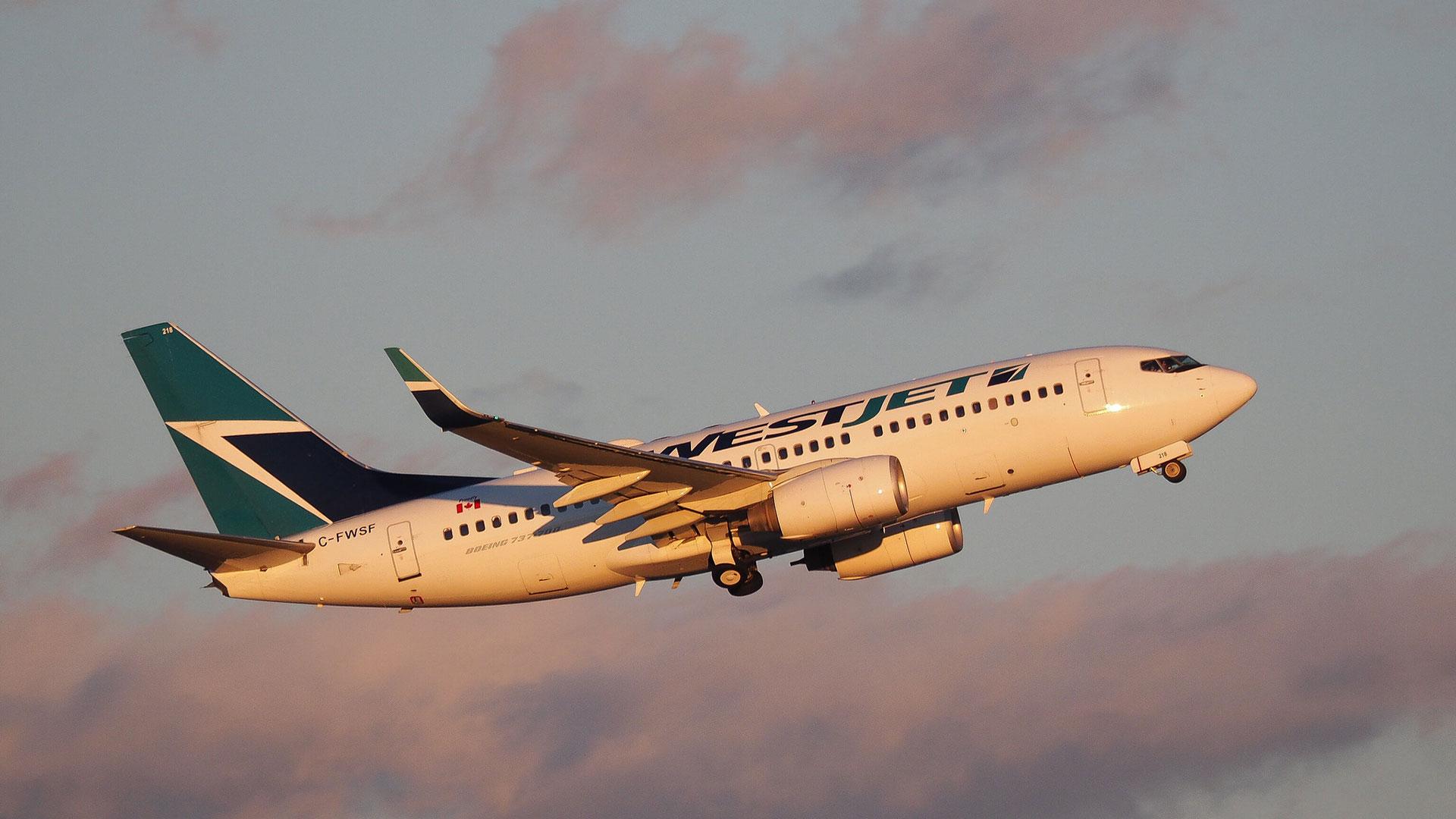 Westjet Airlines Flight tracker