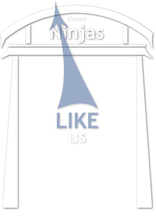 Like iframe Ninjas Facebook Page