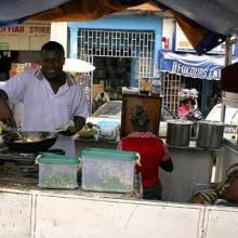 Health teams go round to screen Food Vendors in Ho