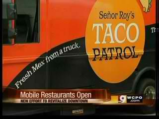 Mobile Restaurants Open in Cincinnati Parking Lots