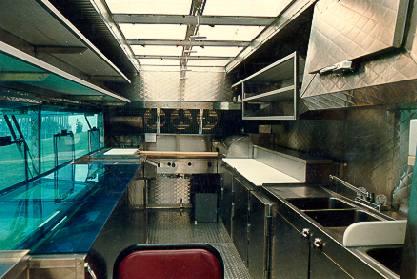 Standard Catering Truck Interior