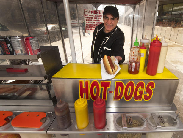 Hot Dog Catering Sf
