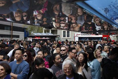 San Jose: First Food Truck Festival Attracts Long Lines