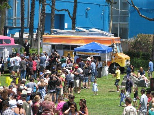 Long Beach Street Food Fest Truckin' Back to the LBC