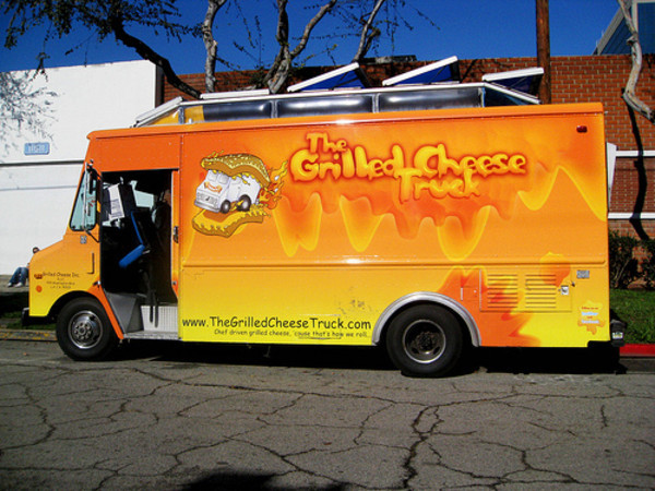 Hollywood, CA: Grilled Cheese Truck Revives the Gooey Classic