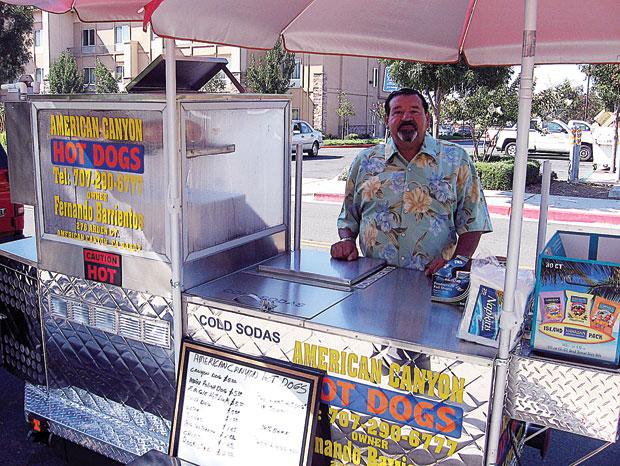 Napa: American Canyon has its First Food Vendor