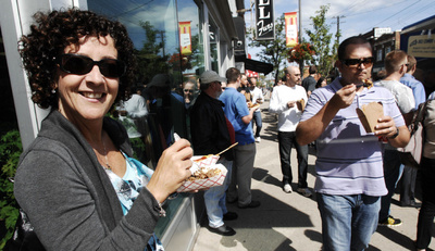 Hamilton, ONT: A Food Rally on Forty Wheels