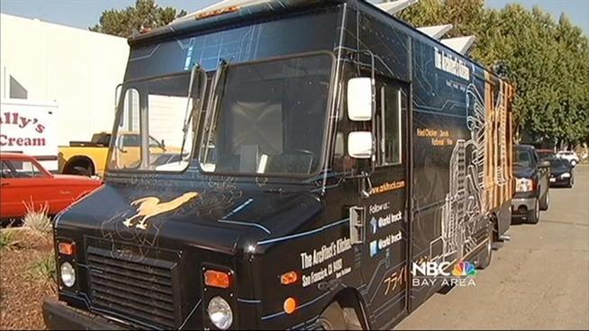 Hayward, CA: Man Creates Custom Food Trucks [video]