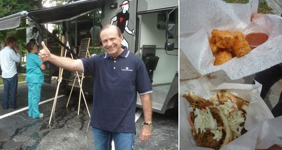 Coconut Grove, FL: Food Trucks Converge on Bank