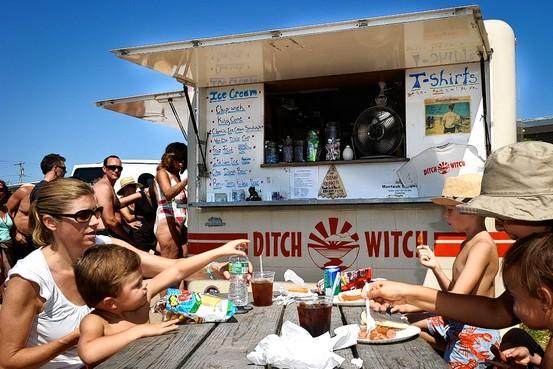 Long Island, NY: Feeding Frenzy in Montauk