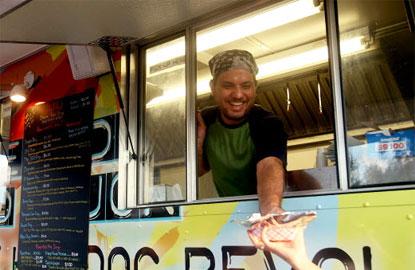 Food Trucks Add Flavor to Spady Day in Delray, FL