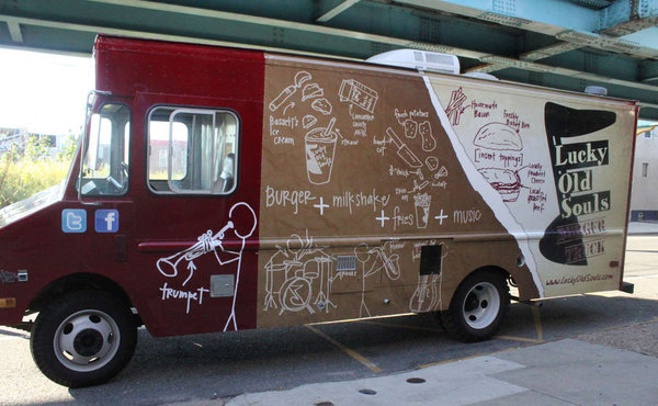 Philadelphia, PA: Not All the Appeal of a Food Truck is Inside