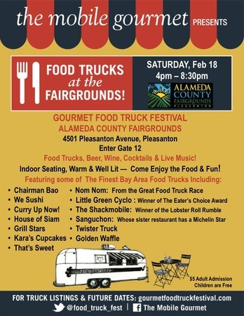 Pleasanton, CA: Mobile Gourmet Food Trucks Coming Back to the Fairgrounds