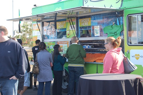 Food Truck Village at the 38th Annual Toyota Grand Prix of Long Beach