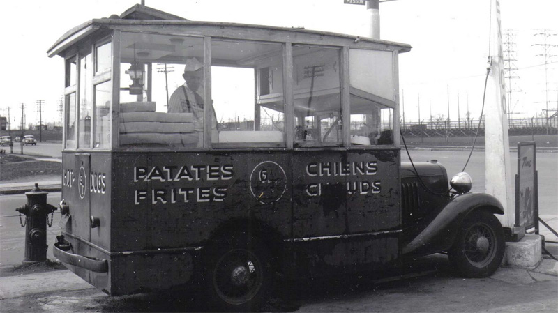 Generic Antique Food Truck