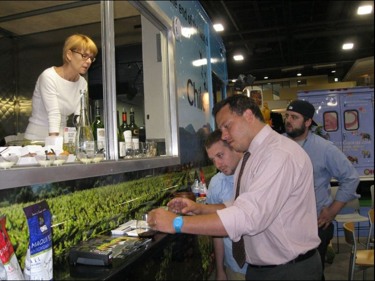 Wash, DC: Chile Food Truck Debuts at Fancy Food Show