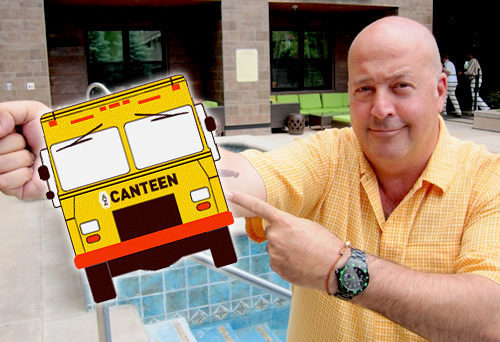 """Twin CIties, MN: Andrew Zimmern to Launch a """"AZ Canteen"""" Food Truck in the Twin Cities"""